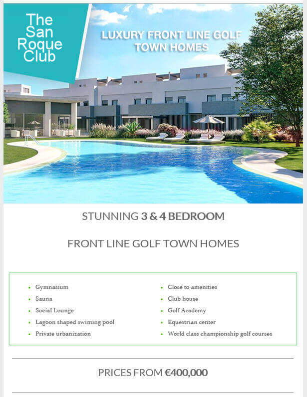 Current Offer For Project The San Roque Club